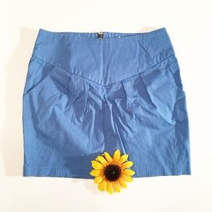 Blue Urban Outfitters Silence + Noise skirt 4 mini
